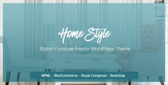 Test du thème WordPress Homestyle , découvrez notre avis