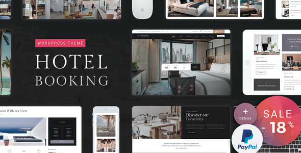test Hotel Booking - Hotel WordPress Theme