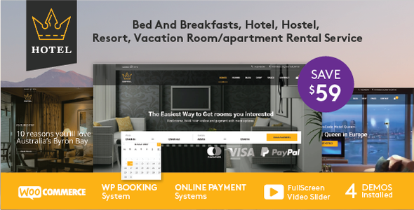 test Hotel WordPress Theme | Hotel Queen