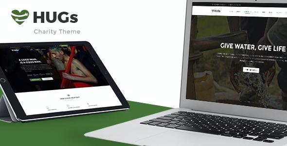 Test du thème WordPress Hugs , découvrez notre avis