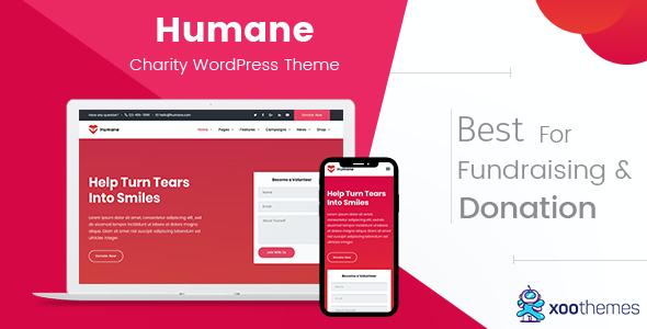 Test du thème WordPress Humane , voici notre avis