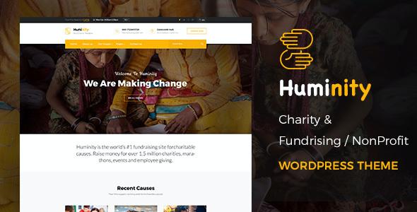 Test du thème WordPress Huminity , voici notre avis