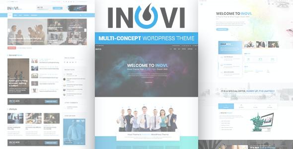 Test du thème WordPress INOVI , découvrez notre avis