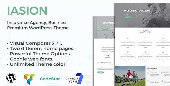 test Iasion | Insurance Agency WordPress Theme
