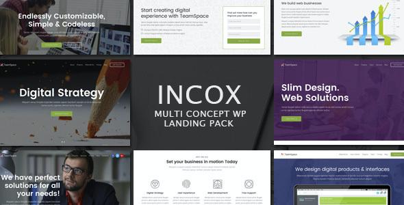 Test du thème WordPress Incox , découvrez notre avis