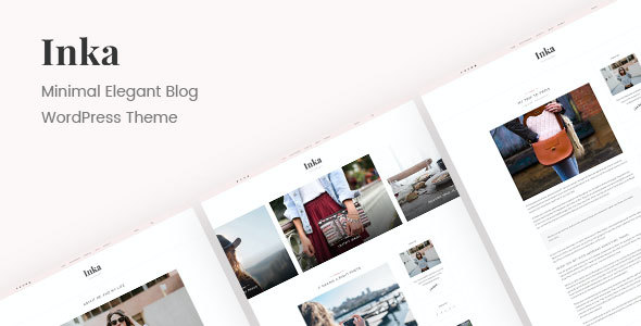 test Inka | Minimal Blog WordPress Theme