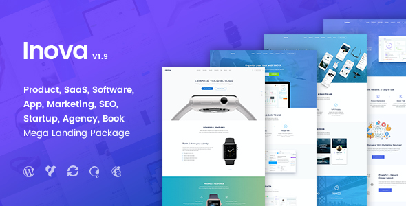 test Inova - Multi-concept Landing Page Combo WordPress Theme With RTL