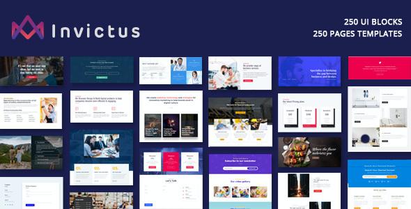 Test du thème WordPress Invictus , voici notre avis