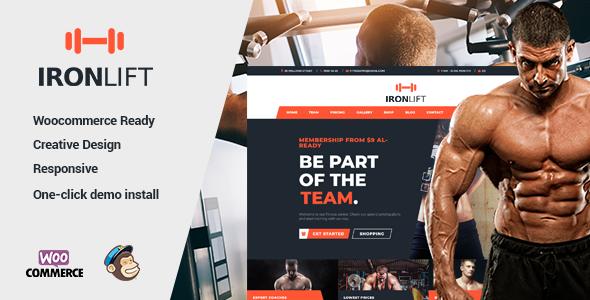 Test du thème WordPress IronLift , découvrez notre avis