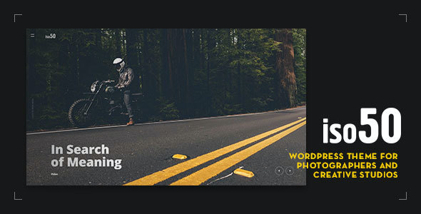 test Iso50 - Photography WordPress Theme
