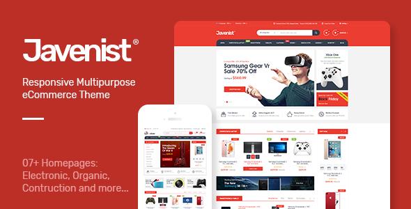 Test du thème WordPress Javenist , voici notre avis