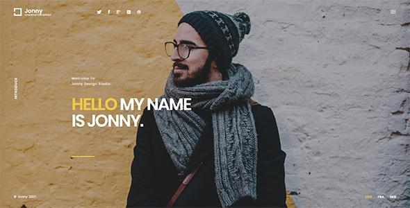 Test du thème WordPress Jonny , voici notre avis