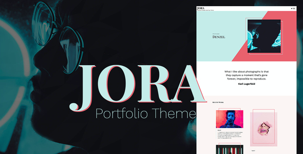 test Jora – an Exquisite Portfolio WordPress Theme