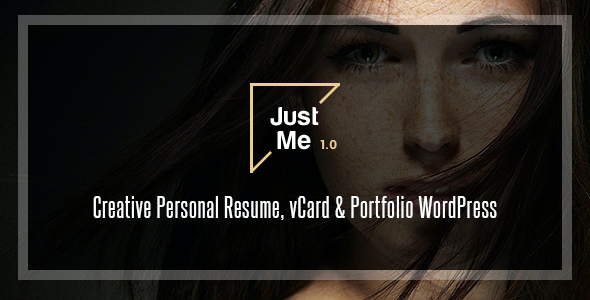 test Just Me | Creative Portfolio WordPress Theme