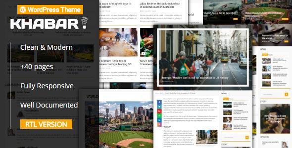 test KHABAR - Responsive News Magazine WordPress Theme