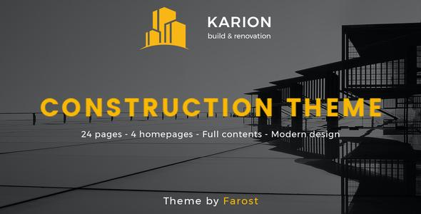 Test du thème WordPress Karion , voici notre avis
