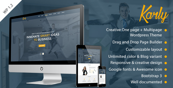 test Karly - Creative WordPress Theme