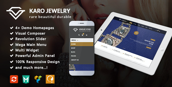 test Karo - Jewelry Responsive WooCommerce WordPress Theme