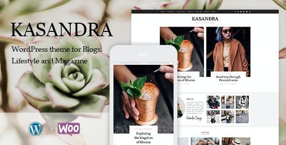 Test du thème WordPress Kasandra , découvrez notre avis