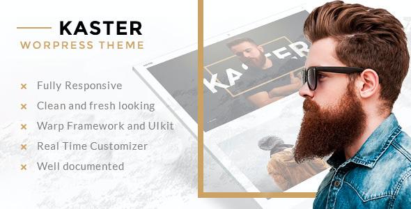 Test du thème WordPress Kaster , voici notre avis