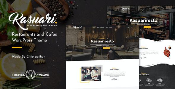 Test du thème WordPress Kasuari , découvrez notre avis
