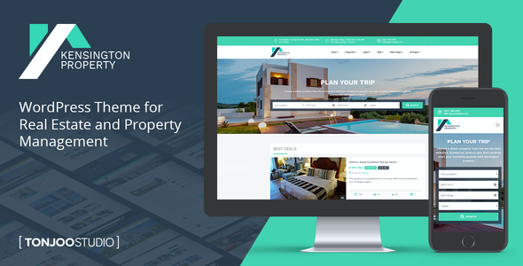 test Kensington - Real Estate and Property Management WordPress Theme