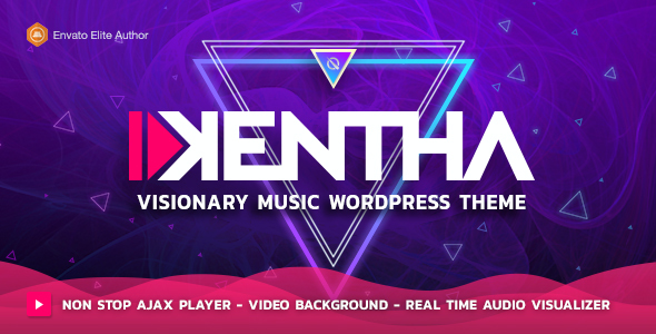 test Kentha — Visionary Music WordPress Theme