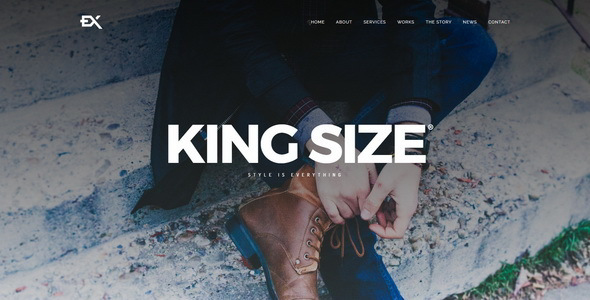 test King Size || Creative Portfolio WordPress Theme