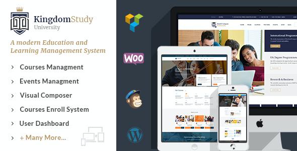 Test du thème WordPress Kingdom Study , découvrez notre avis