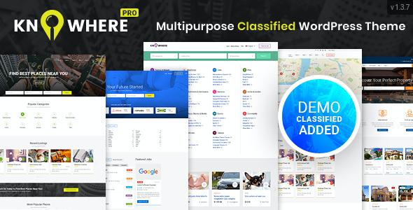 Test du thème WordPress Knowhere Pro , découvrez notre avis