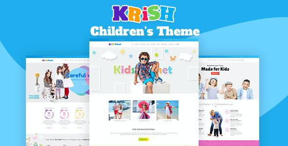 Test du thème WordPress Krish , voici notre avis