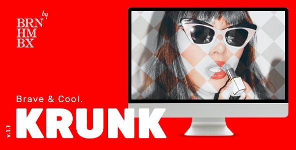 Test du thème WordPress Krunk , voici notre avis