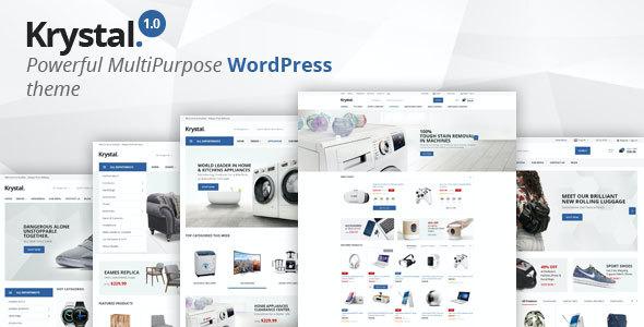 Test du thème WordPress Krystal , découvrez notre avis