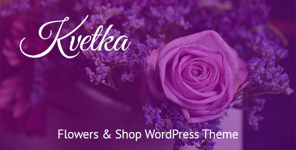 Test du thème WordPress Kvetka , voici notre avis