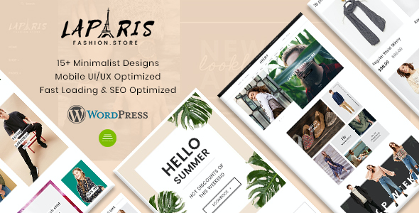 test LaParis - Creative Responsive WordPress Theme
