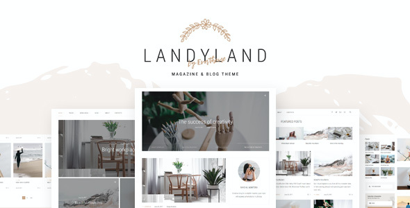 test Landyland - Responsive Clean Blog & Magazine Theme