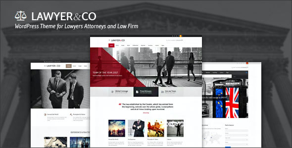 test Lawyer - Lawyer & Attorney WordPress Theme