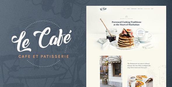 Test du thème WordPress Le Cafe , voici notre avis