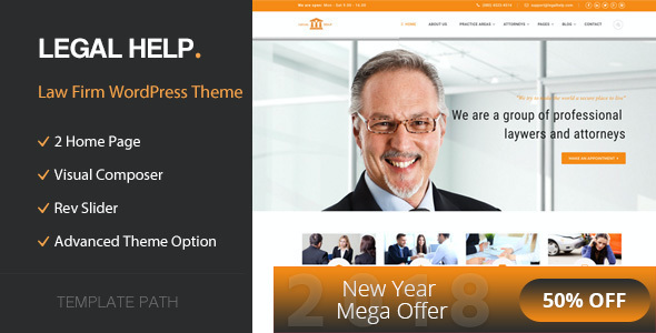 test Legal Help - Law Firm WordPress Theme