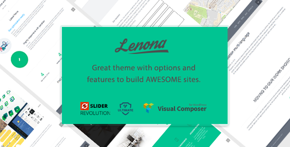 test Lenona Multipurpose Business WordPress theme