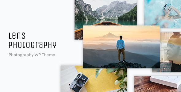Test du thème WordPress Lens Photography , voici notre avis