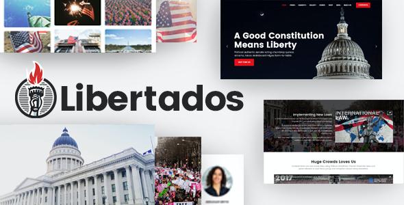 Test du thème WordPress Libertados , voici notre avis