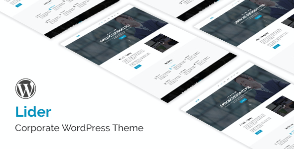 test Lider - Responsive Multipurpose WordPress Theme