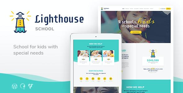 Test du thème WordPress Lighthouse , découvrez notre avis