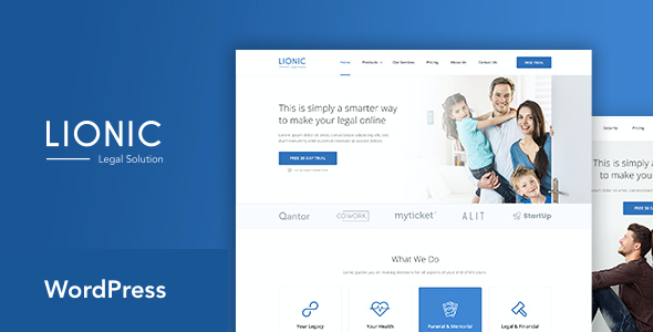 test Lionic - Online Finance & Legal WordPress Theme