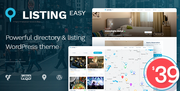 test ListingEasy Directory WordPress Theme