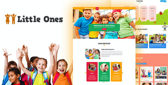 test Little Ones - One Page Children/Daycare WordPress Theme