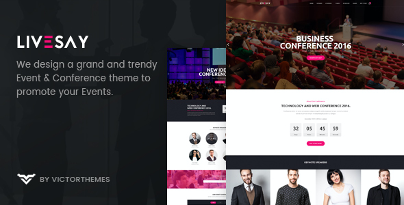 test Livesay - Event & Conference WordPress Theme