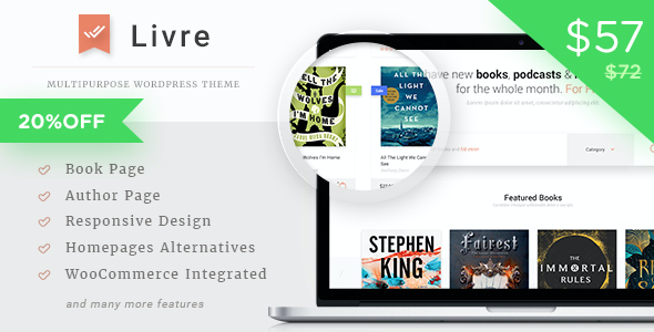 test Livre - WooCommerce Theme For Book Store