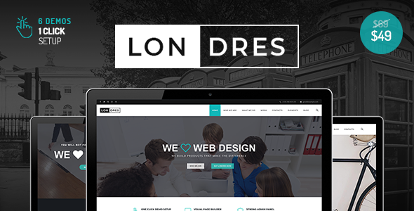 test Londres - Stylish Multi-Concept WordPress Theme